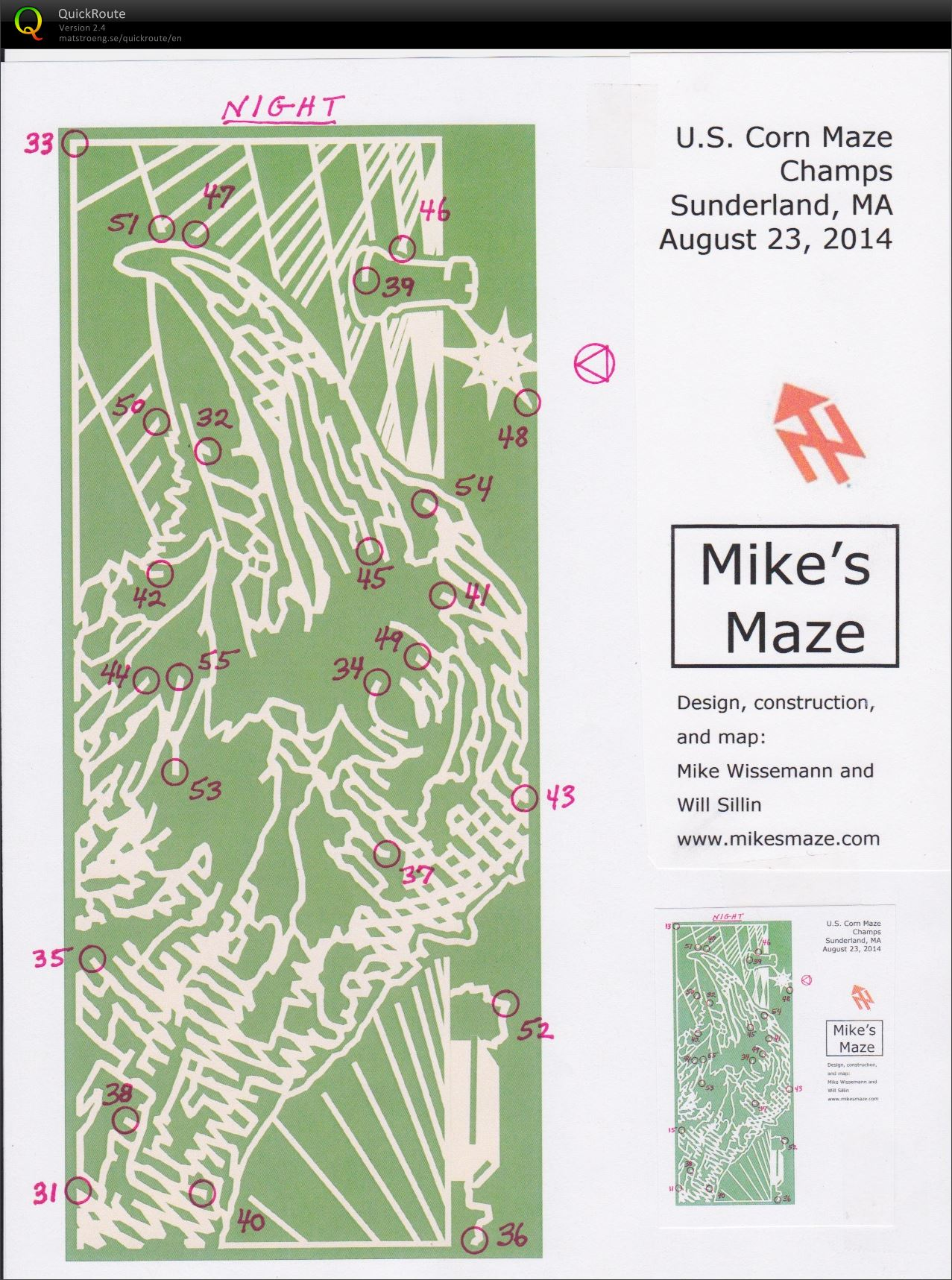 Corn Maze Night (24/08/2014)